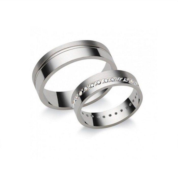 Karikagyűrű fehér N5