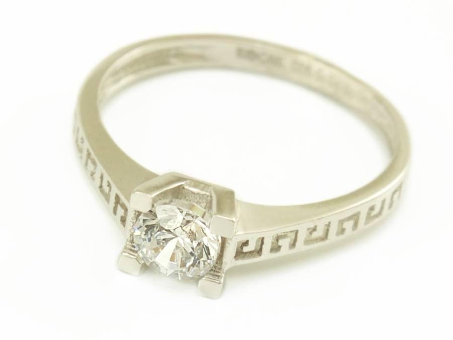 Egyköves eljegyzési gyűrű
